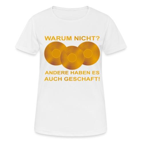 Goldene Schallplatte - Frauen T-Shirt atmungsaktiv