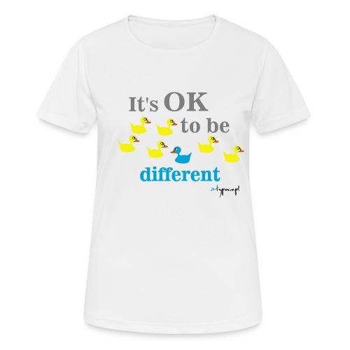 It's OK to be different - Koszulka damska oddychająca