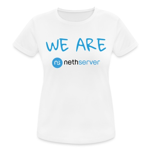 blue-black-rectangle - Women's Breathable T-Shirt