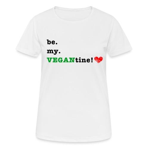 VEGANtine Green - Women's Breathable T-Shirt