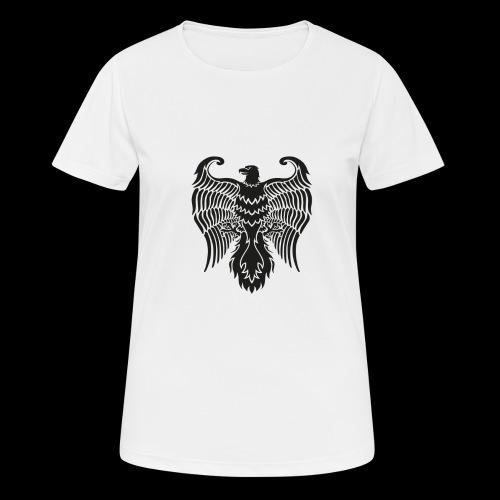 HAUKKA ei tekstia - naisten tekninen t-paita
