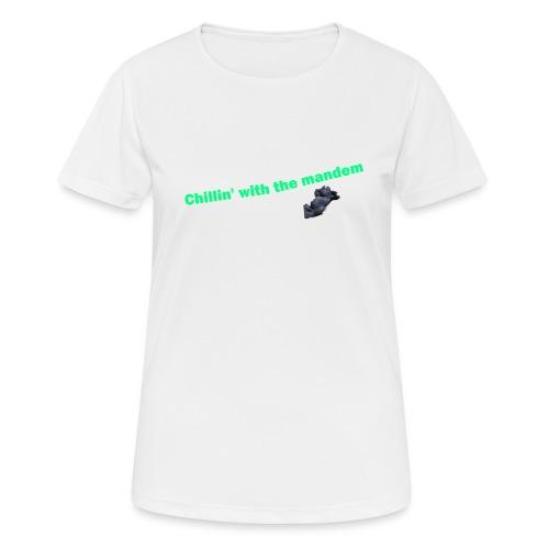 chillin' - Women's Breathable T-Shirt