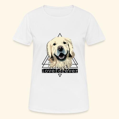 RETRIEVER LOVE FOREVER - Camiseta mujer transpirable