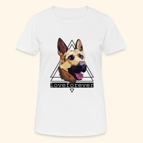 SHEPHERD LOVE FOREVER - Camiseta mujer transpirable