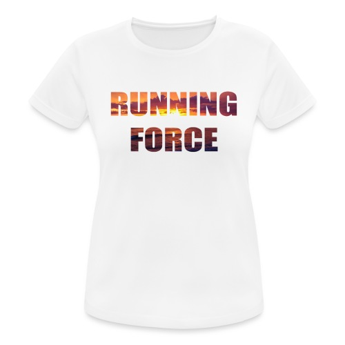 Logo-Shirt RUNNINGFORCE - Frauen T-Shirt atmungsaktiv