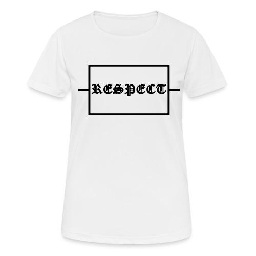 Widerstand für RESPECT - Frauen T-Shirt atmungsaktiv
