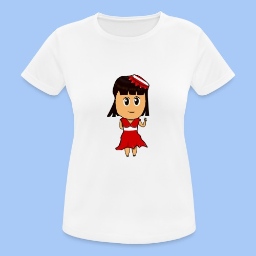 Coca chan - Camiseta mujer transpirable