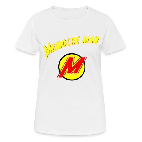 Mediocreman - Camiseta mujer transpirable