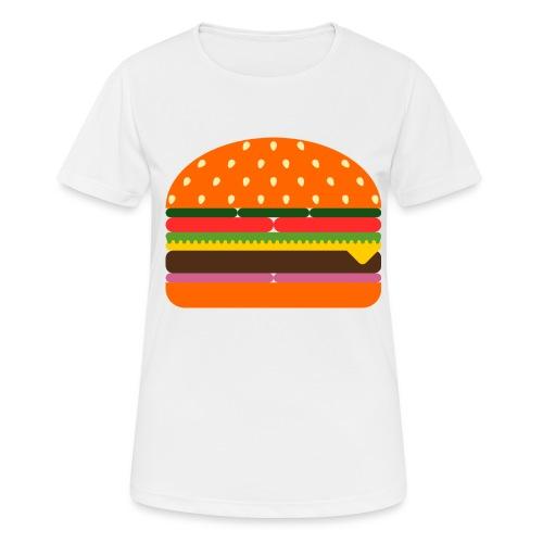 burger 3437618 - Frauen T-Shirt atmungsaktiv