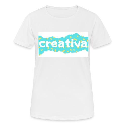 Creativa - Camiseta mujer transpirable