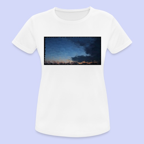 Sunset lovers - Morning tea cup - Dame T-shirt svedtransporterende