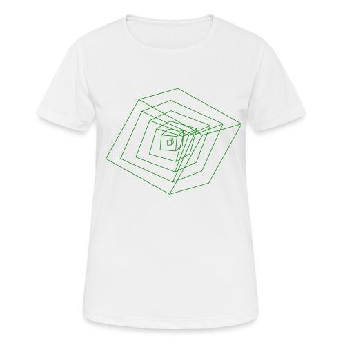 Cubes - T-shirt respirant Femme
