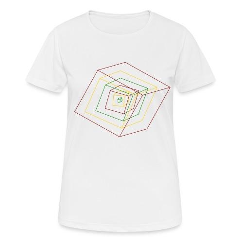 Rasta Cubes - T-shirt respirant Femme