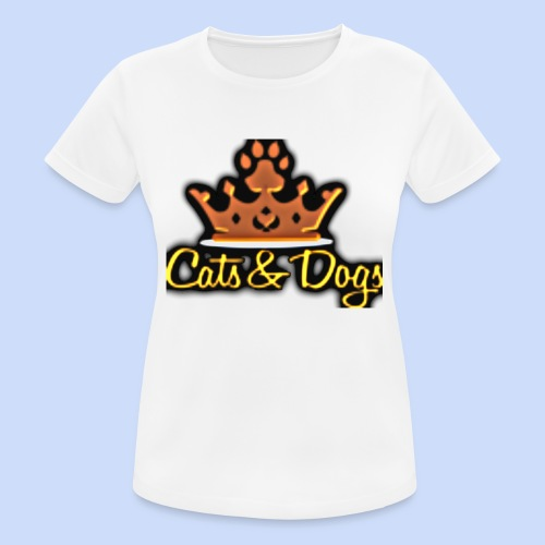 Official Cats&Dogs - Women's Breathable T-Shirt