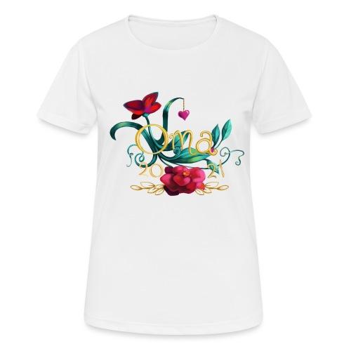 Oma 2021 - Frauen T-Shirt atmungsaktiv
