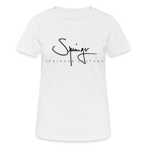 Logo Springer Guitars - T-shirt respirant Femme