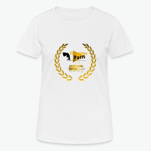 Followme Paris lauréat Festival MMI Béziers - T-shirt respirant Femme