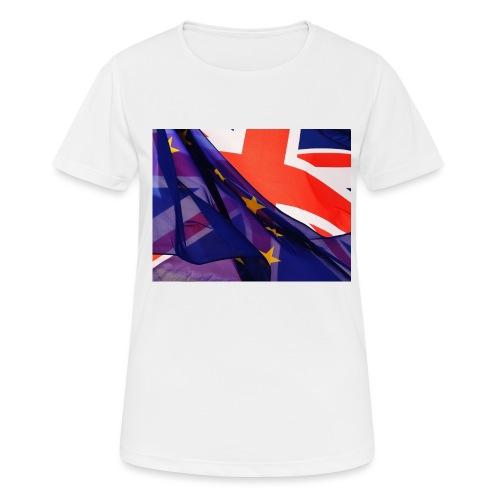 Europa exit - Maglietta da donna traspirante