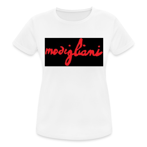 firm_red_black - Maglietta da donna traspirante