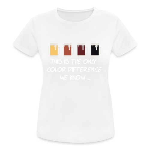 No to racism - Women's Breathable T-Shirt