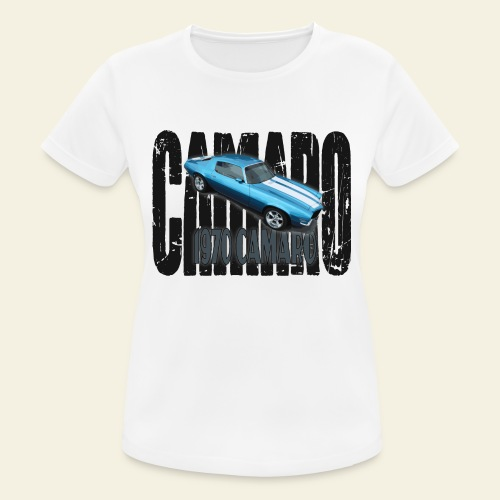 70 Camaro - Dame T-shirt svedtransporterende