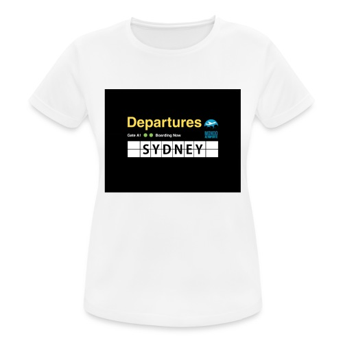 SYDNEY png - Maglietta da donna traspirante