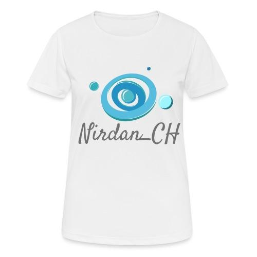 400dpiLogoCropped - T-shirt respirant Femme