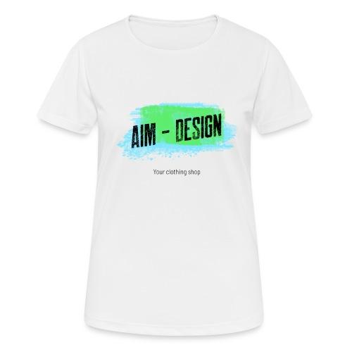 Aim Design - Frauen T-Shirt atmungsaktiv