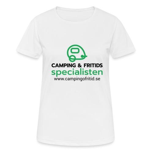 Camping & Fritidsspecialisten NEW 2020! - Andningsaktiv T-shirt dam