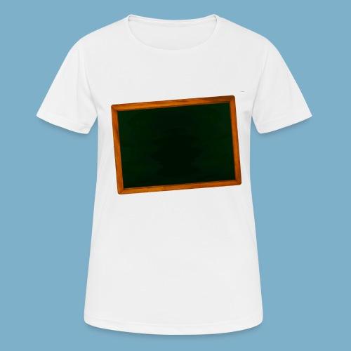 Schul Tafel - Frauen T-Shirt atmungsaktiv