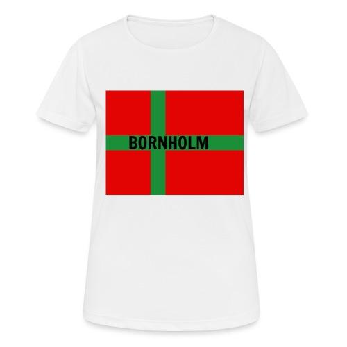 BORNHOLM - Dame T-shirt svedtransporterende