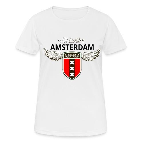 Amsterdam Netherlands - Frauen T-Shirt atmungsaktiv