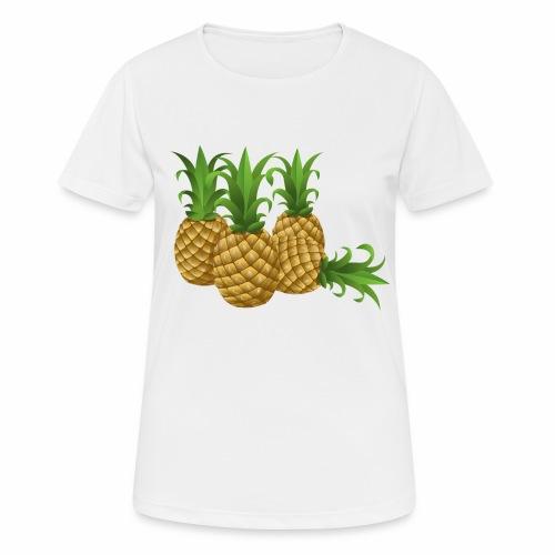 Ananas - Frauen T-Shirt atmungsaktiv