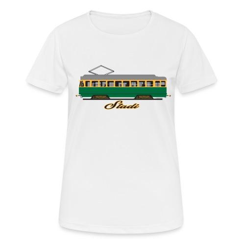HELSINKI STADI SPORA TEKSTIILIT JA LAHJAT - naisten tekninen t-paita