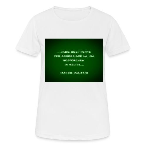 Citazione - Maglietta da donna traspirante
