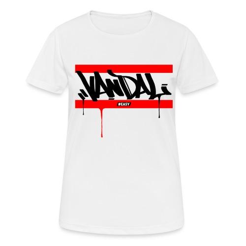 #EASY Graffiti Vandal T-Shirt - Maglietta da donna traspirante