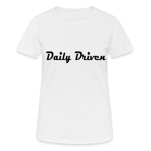 Daily Driven Shirt - Vrouwen T-shirt ademend actief