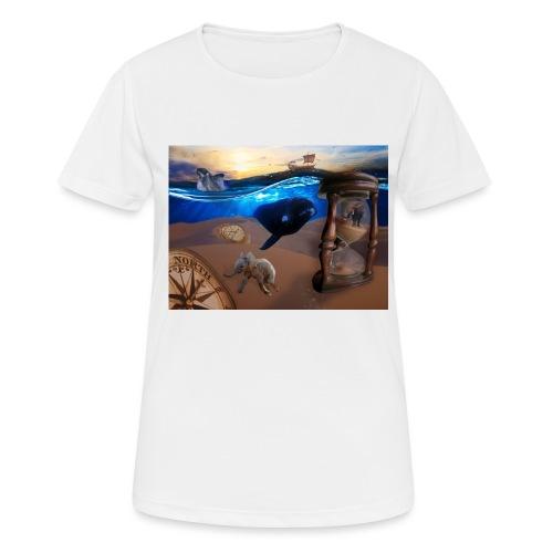 Wodne Przemyślenia - Koszulka damska oddychająca