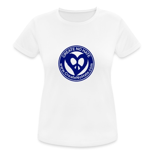 THIS IS THE BLUE CNH LOGO - Women's Breathable T-Shirt