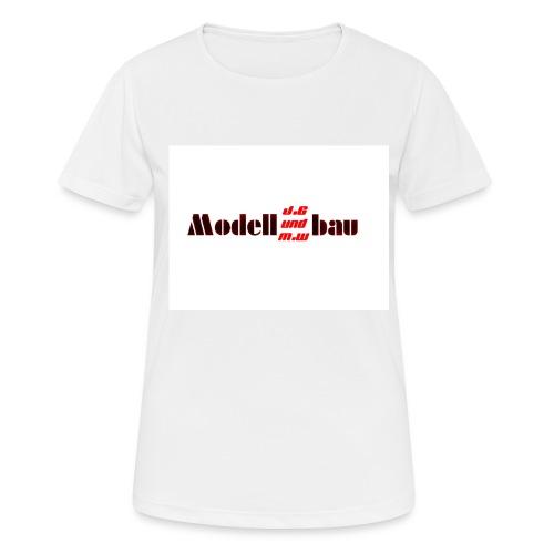 J.G und M.W Modellbau - Frauen T-Shirt atmungsaktiv