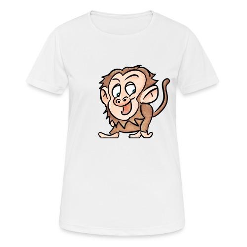 Aap - Vrouwen T-shirt ademend actief