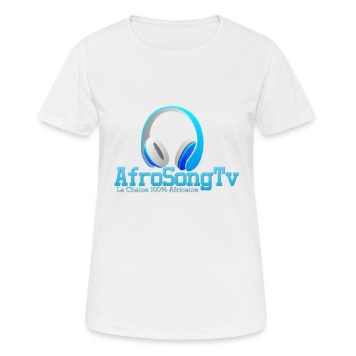 logo - Camiseta mujer transpirable
