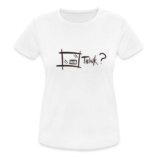 Think Outside The Box - Women's Breathable T-Shirt
