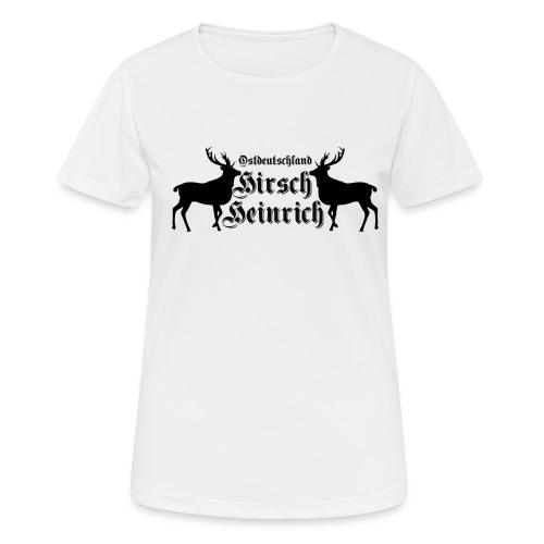 hirsch ostdeutschland - Frauen T-Shirt atmungsaktiv