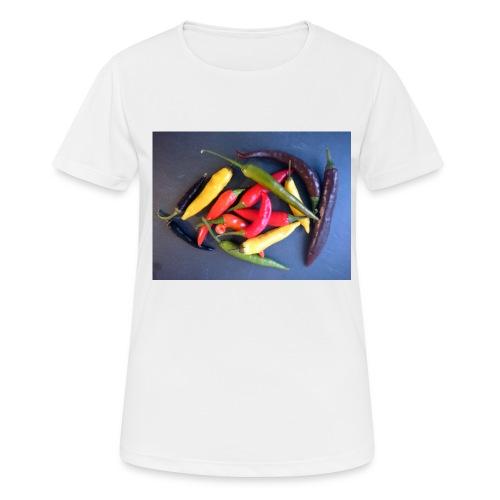 Chili bunt - Frauen T-Shirt atmungsaktiv