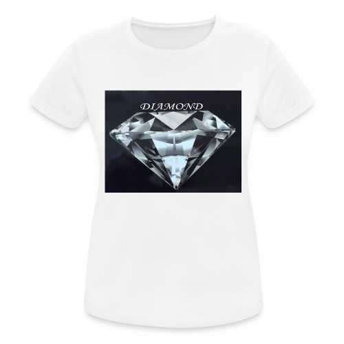 Diamond - Andningsaktiv T-shirt dam