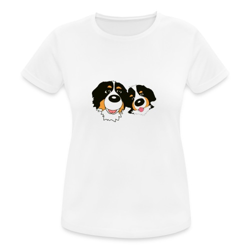 hane och hona - Andningsaktiv T-shirt dam