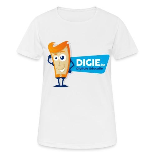 Digie.be - Vrouwen T-shirt ademend actief