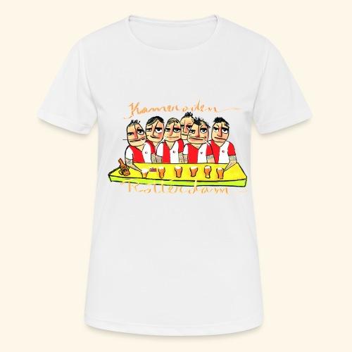 Kameraden Feyenoord - Vrouwen T-shirt ademend actief