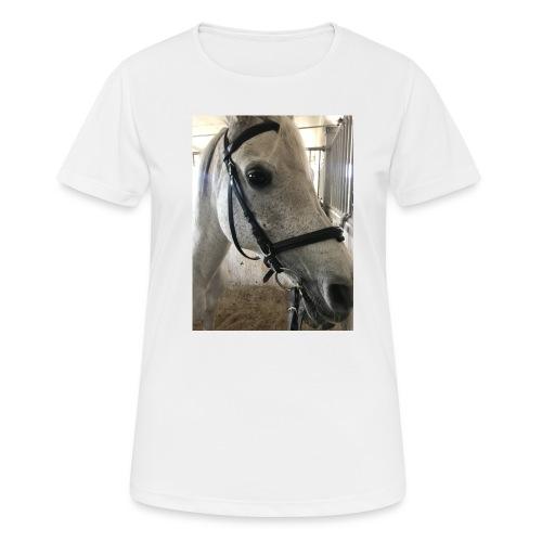 9AF36D46 95C1 4E6C 8DAC 5943A5A0879D - Pustende T-skjorte for kvinner